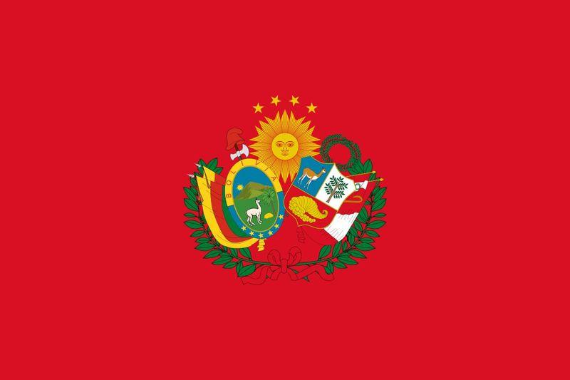 Bienvenido a América, empezamos por el sur, ¿Qué país usaba esa bandera?