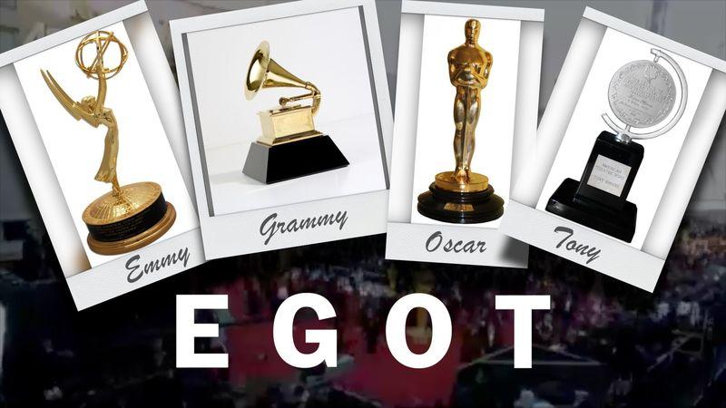 ¿Cuantas personas forman parte del club EGOT (personas que han ganado Emmy, Grammy, Oscar y Tony)?
