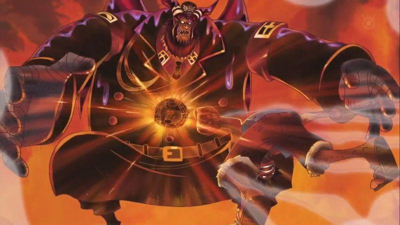 Luffy vs Magellan  (