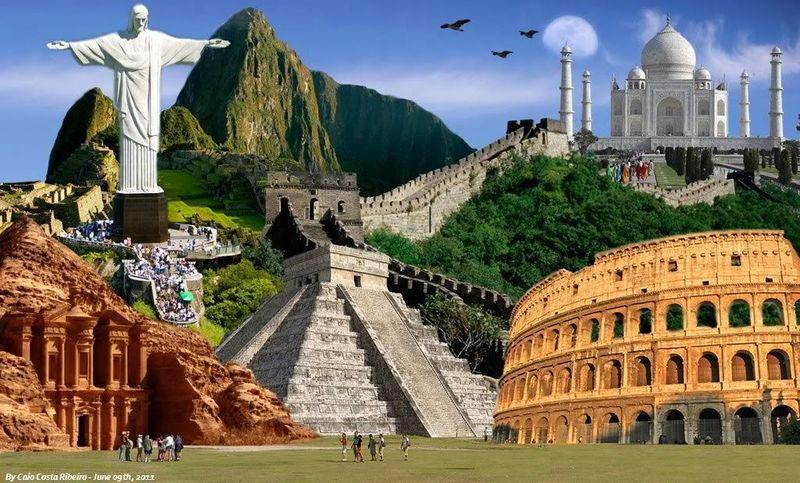 ¿Cuántas de las 7 maravillas del mundo están en América Latina?