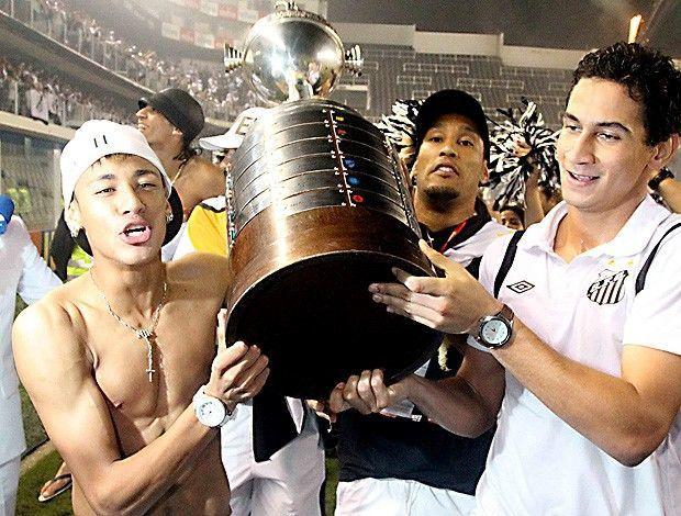 ¿Cuántas Libertadores ha ganado Neymar?