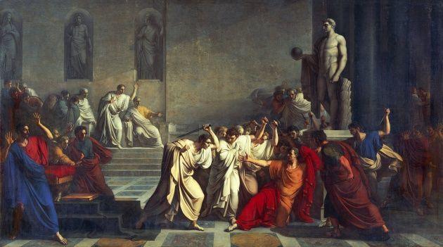 ¿Cuáles fueron las últimas palabras de César?