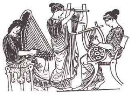 ¿Cúales son los cuatro modos griegos auténticos?