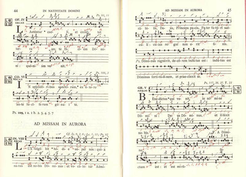 ¿Cuáles fueron las principales escuelas copistas durante el nacimiento del canto gregoriano?