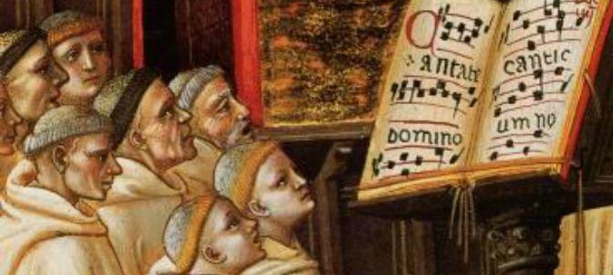 ¿Cúantos cantos se incluían dentro del Ordinario en una Misa de canto gregoriano?