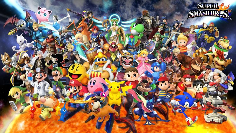 28955 - ¿Cuánto sabes de Super Smash Bros?