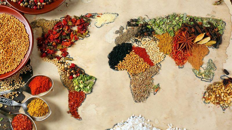 28985 - Comidas del mundo. ¿A qué país pertenecen?