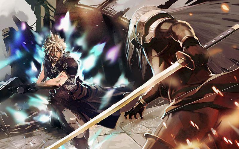 ¿Cloud o Sephiroth?