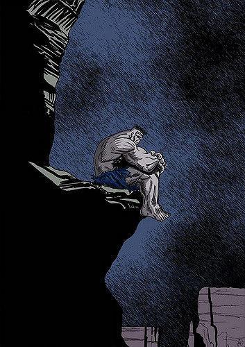Eres extremadamente fuerte y resistente, pero la gente te teme y te considera una amenaza.