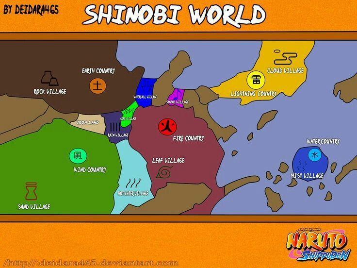 29037 - ¿A qué aldea de Naruto perteneces?