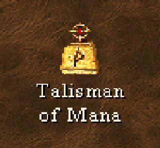 ¿Para qué sirve el Talismán de maná?