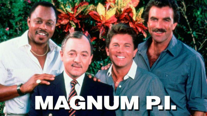 ¿Con qué serie tuvo un crossover Magnum P.I.?