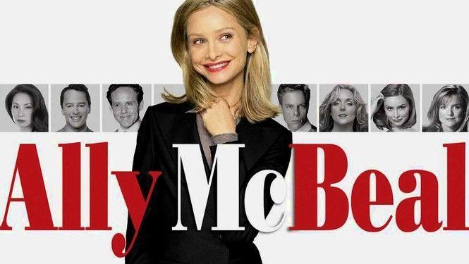 ¿Con qué serie tuvo un crossover Ally McBeal?