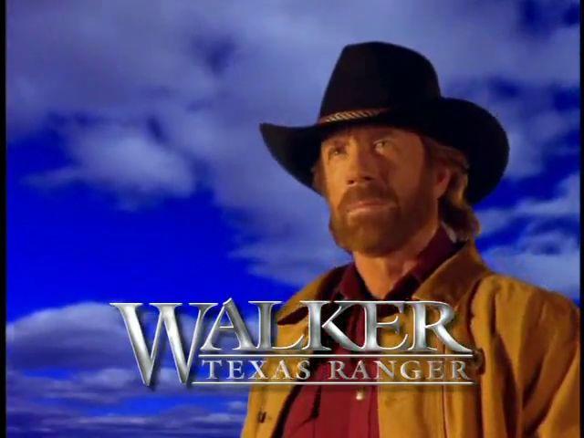 ¿Con qué serie tuvo un crossover Walker, Texas Ranger?
