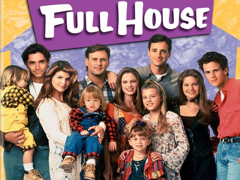 ¿Con qué serie tuvo un crossover Full House?