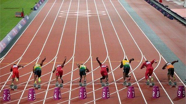 Atletismo: 100 metros lisos Masculino