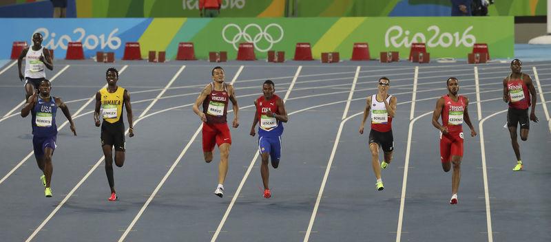 Atletismo: 400 metros Masculino