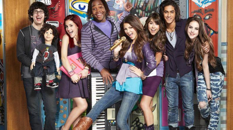 Tori, Trina, Cat, Jade, Andre y Robbie. ¿Quién me falta de los protagonistas?