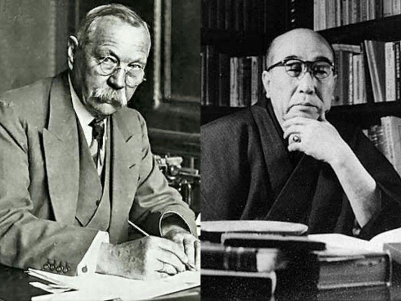 ¿Cuáles son los detectives ficticios que salían en la mayoría de obras de los dos novelistas que forman el nombre de Conan?