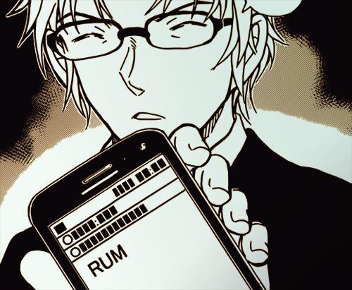 ¿Qué caracteriza a Rum, el segundo al mando de la Organización de los Hombres de Negro?