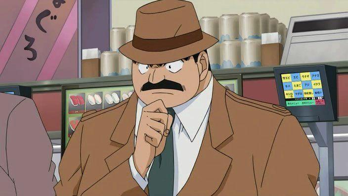 ¿Por qué razón el Inspector Megure nunca se quita el sombrero?