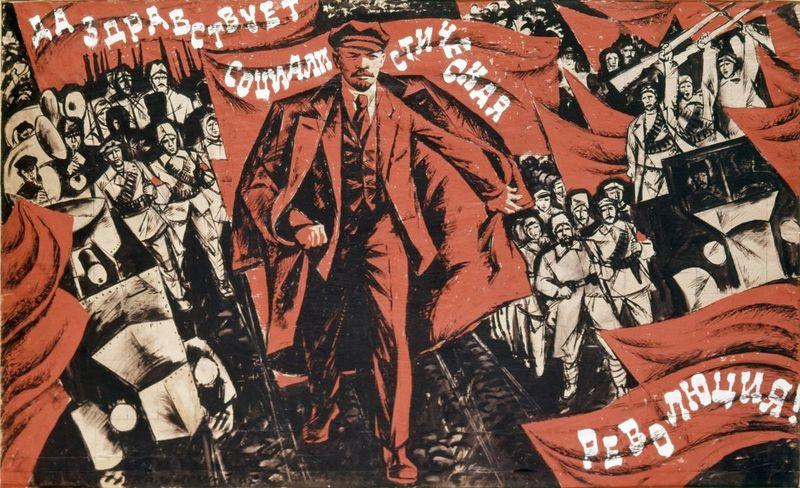 ¿En que mes se celebra en Rusia la Revolución de Octubre?
