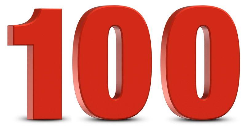 ¿Cuántas veces podemos restar el número 10 al 100?