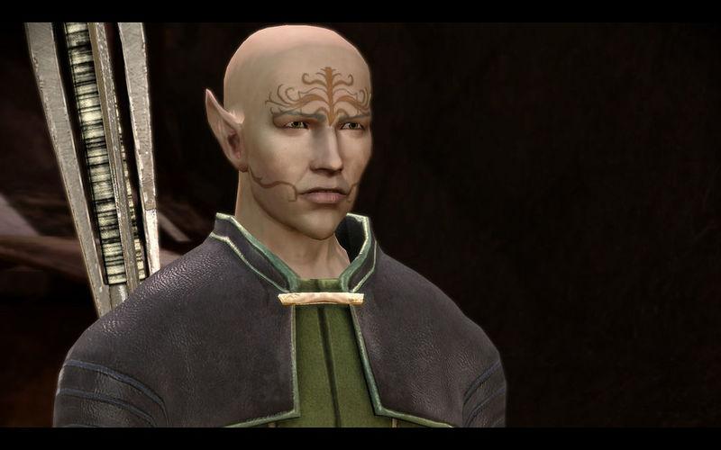 ¿Cómo se llama el Custodio de la tribu Dalishana a la que acudes para pedir su ayuda?
