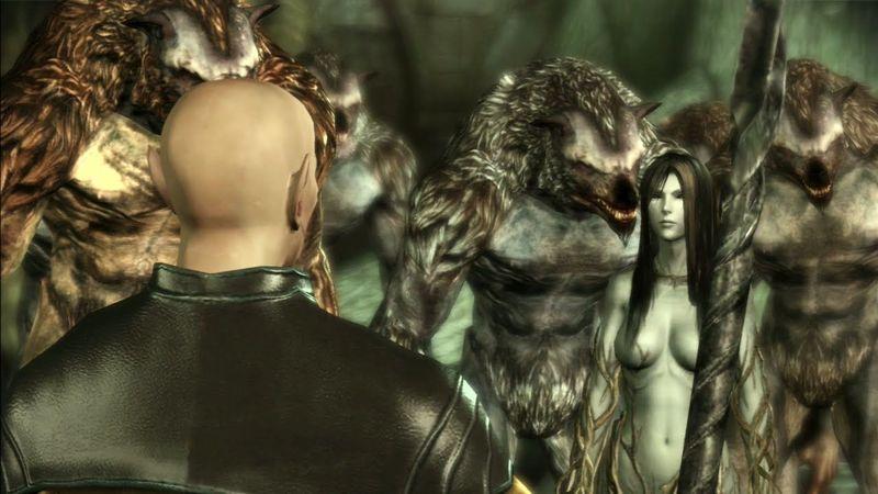 ¿Cómo se llama el espíritu que esta al mando de los hombres lobo en el bosque de Brecilia?