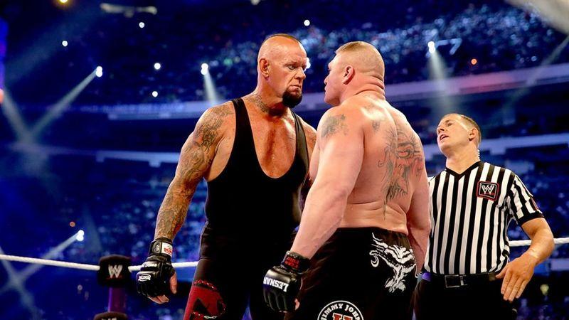 Undertaker vs Brock Lesnar