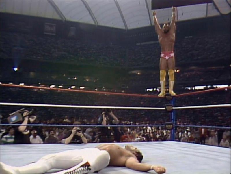 Ricky Steamboat vs Randy Savage