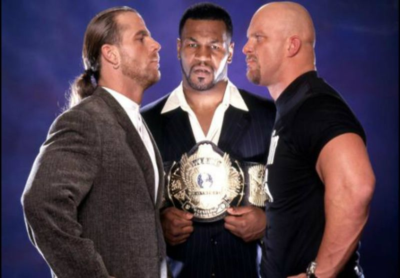 Shawn Michaels vs Stone Cold Steve Austin