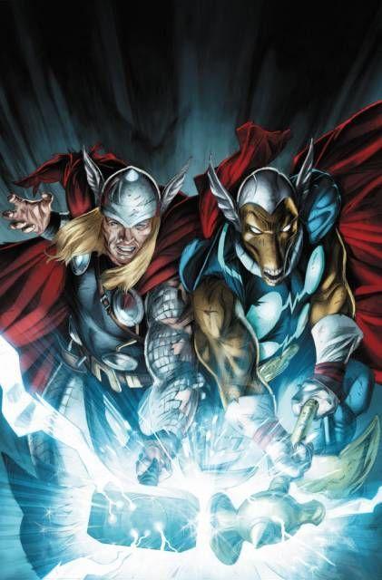 ¿Cómo consiguió Beta Ray Bill un martillo y poderes similares a Thor?