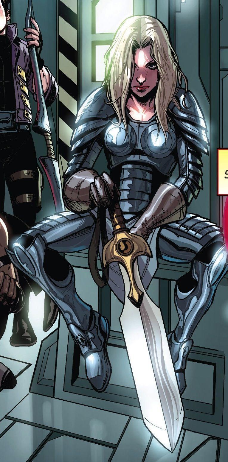 ¿Cómo se llama la hija que Thor tine con Sif?