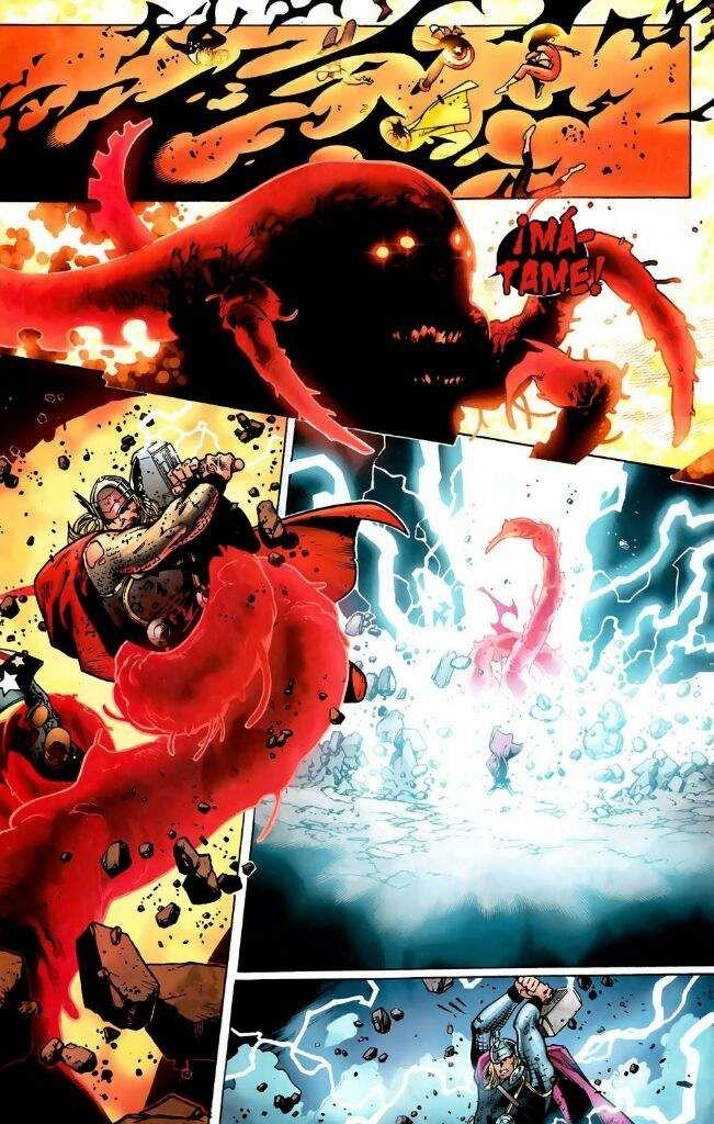 ¿En qué historia Thor mata a Sentry? (Muerte principal)