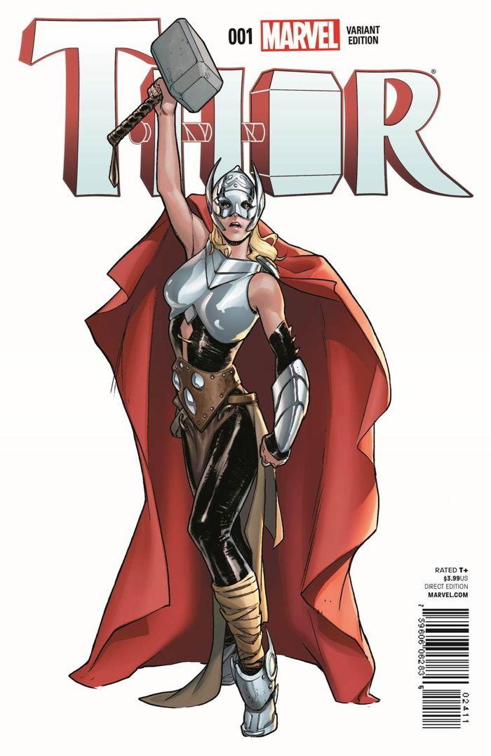 ¿Cuál es la identidad de la mujer Thor y por qué tiene esos poderes?