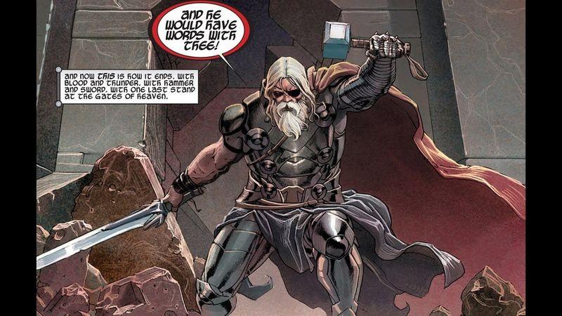 Una de las mejores historias de Thor (Thor el carnicero de dioses, y una de mis favoritas). ¿Cuál es la frase más memorable?