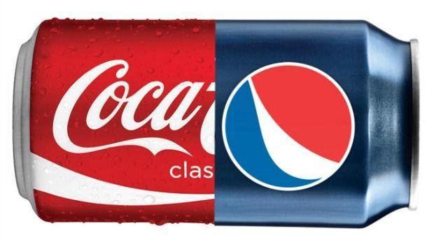 Empecemos con la bebida: ¿Coca-cola o Pepsi?