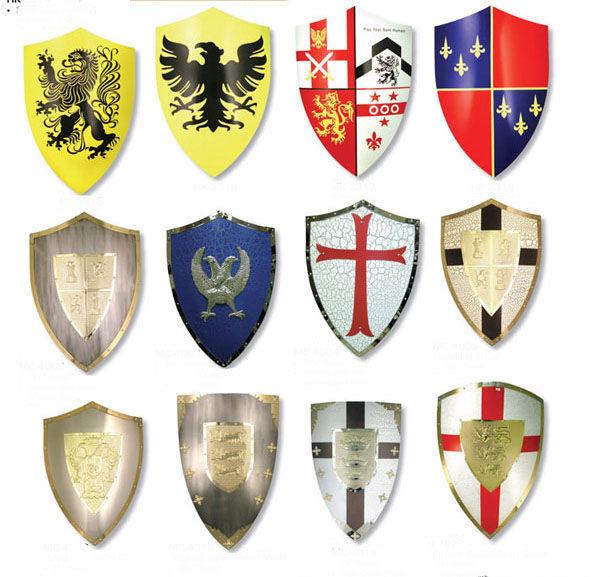 19416 - ¿Reconoces estos escudos europeos medievales?