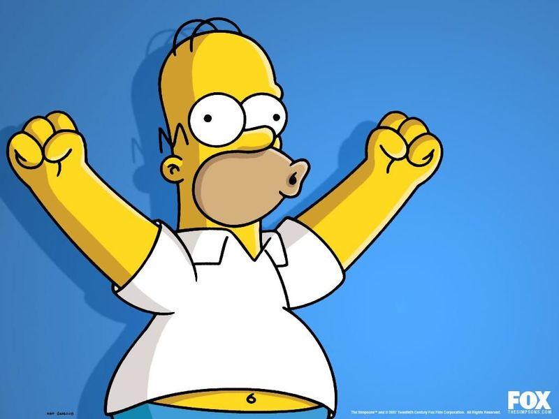 Homer Simpson (personaje del libro El Día de la Langosta) vs Homer Simpson (personaje de Los Simpson)