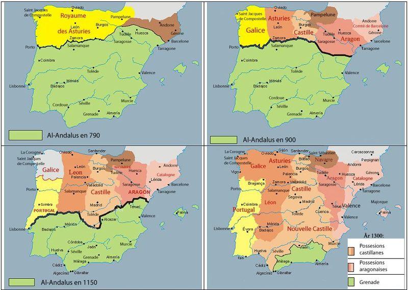 ¿La Reconquista fue una guerra continua entre los reinos cristianos y los musulmanes?