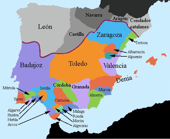 ¿Quienes se enfrentaron durante la Reconquista?