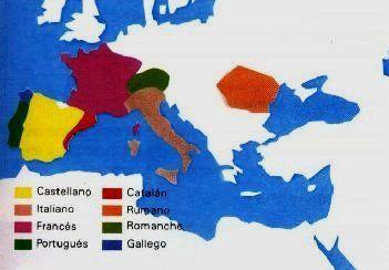 ¿Qué idioma peninsular evolucionó antes del latín?