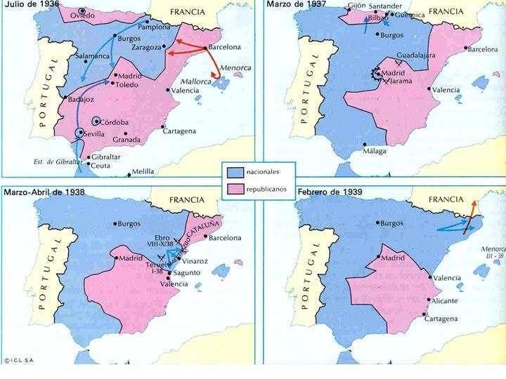 ¿Qué bando declaró la Guerra Civil Española?