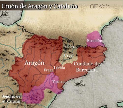 ¿Cómo se unieron el Condado de Barcelona y el Reino de Aragón?