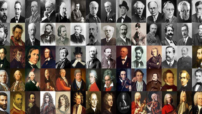 29363 - Compositores de música clásica. ¿Cuántos aciertas?