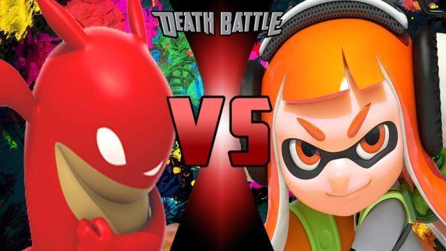 ¿Quién ganaría entre Inkling y De Blob?