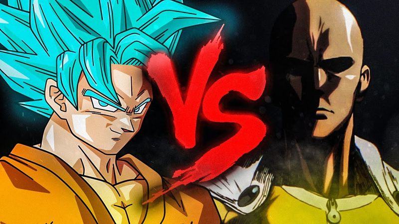 ¿Quién ganaría entre Goku y Saitama?