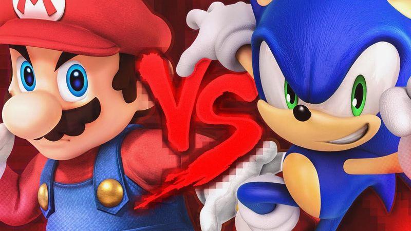 ¿Quién ganaría entre Mario y Sonic?