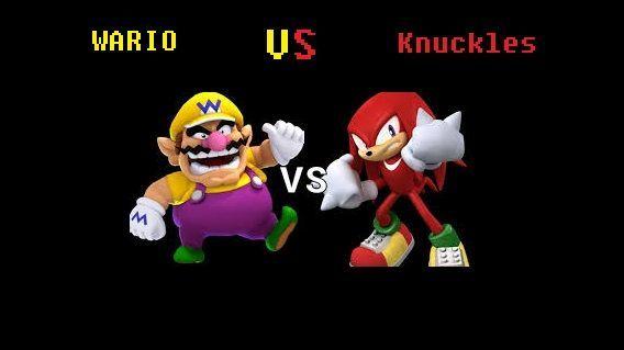 ¿Quién ganaria entre Wario o Knuckles?